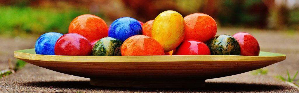 Ostereier halten Sich bis zu 3 Monate (Bild:Pixabay/Alexas_Fotos)