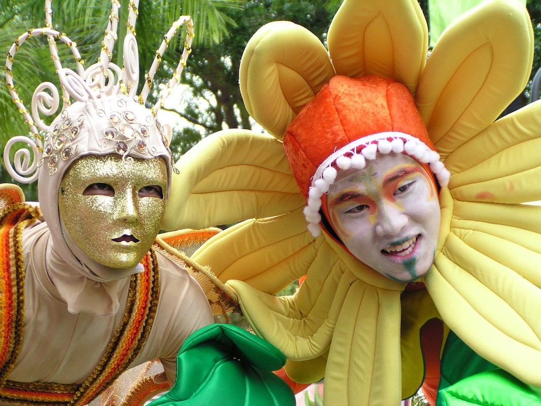 Karneval: Haltbarkeit von Schminke ist begrenzt